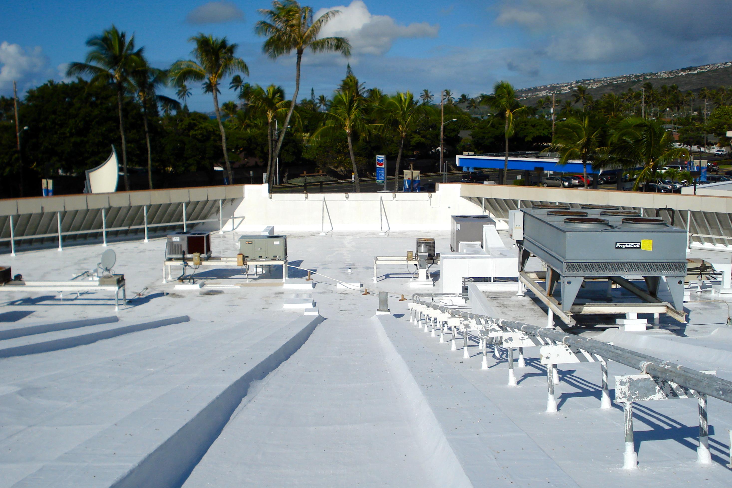 Koko Marina Roof - After